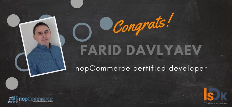 nopCommerce-certified-developer