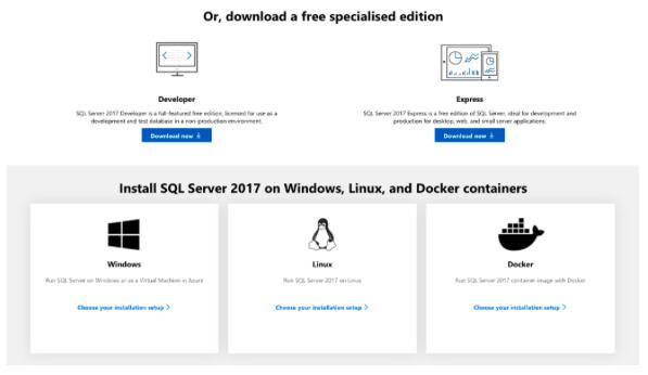 Download SQL Server