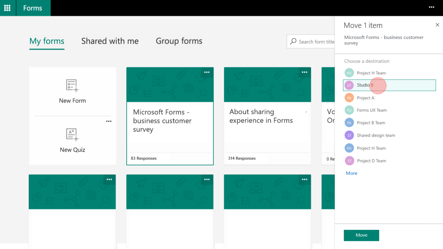 Office 365 Forms