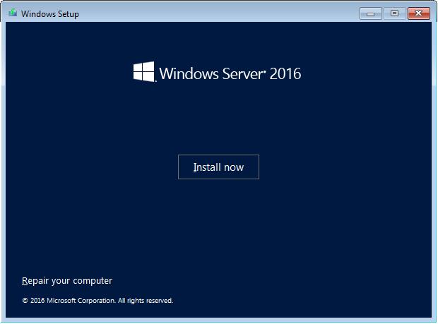 Windows setup