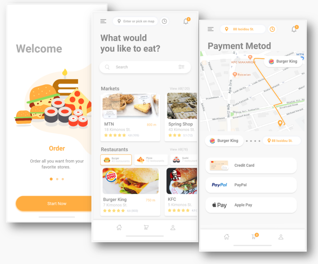 m-apps for food retail